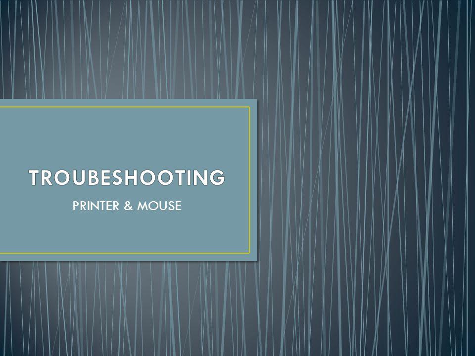 Troubleshooting adalah sebuah istilah dalam bahasa Inggris, yang merujuk kepada sebuah bentuk penyelesaian sebuah masalah.