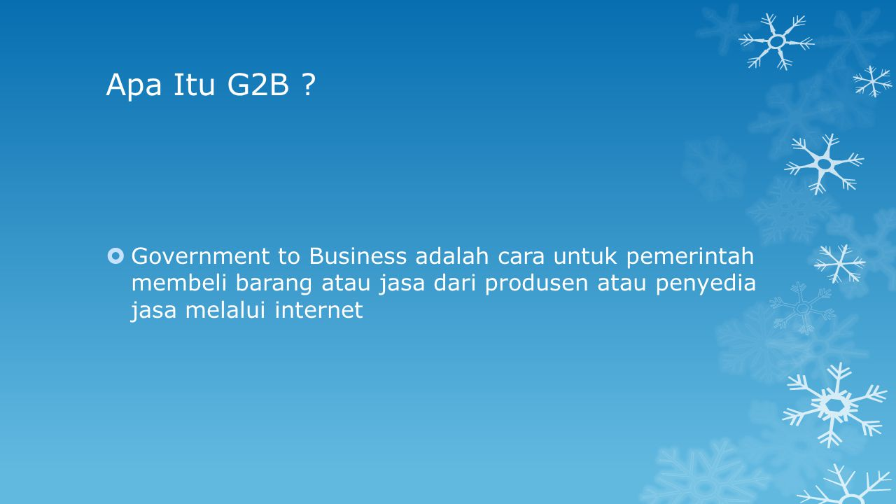 Apa Itu e-Government Procurement .