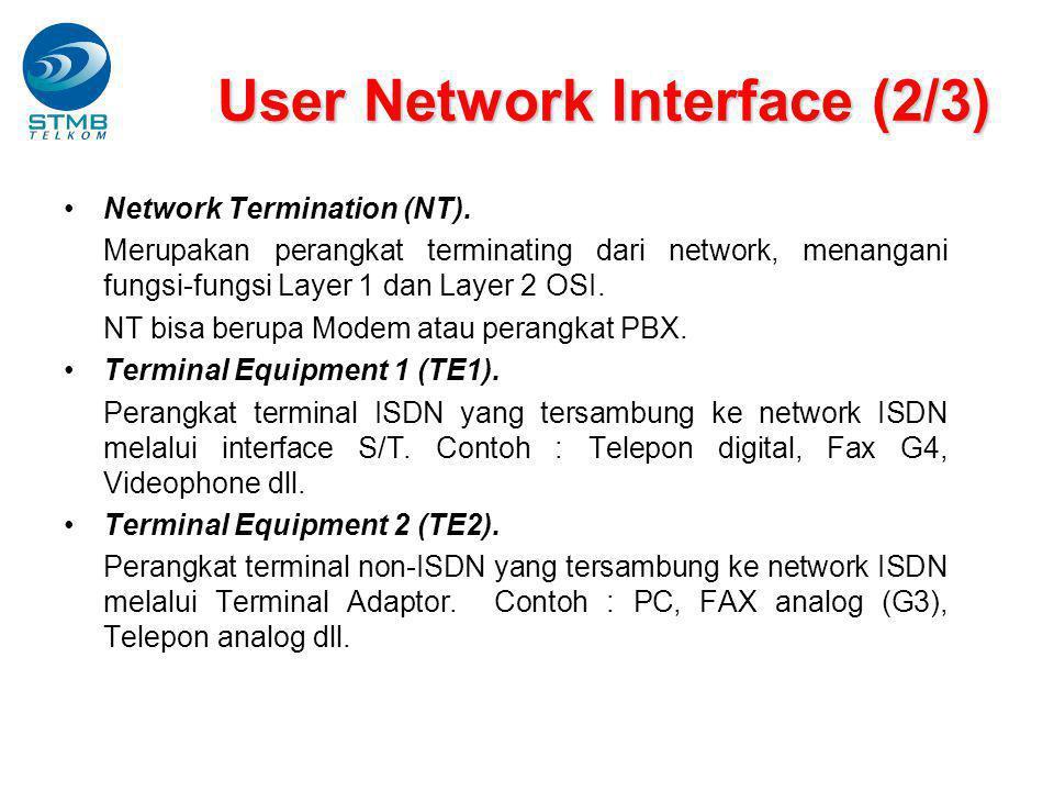 Network Termination (NT).