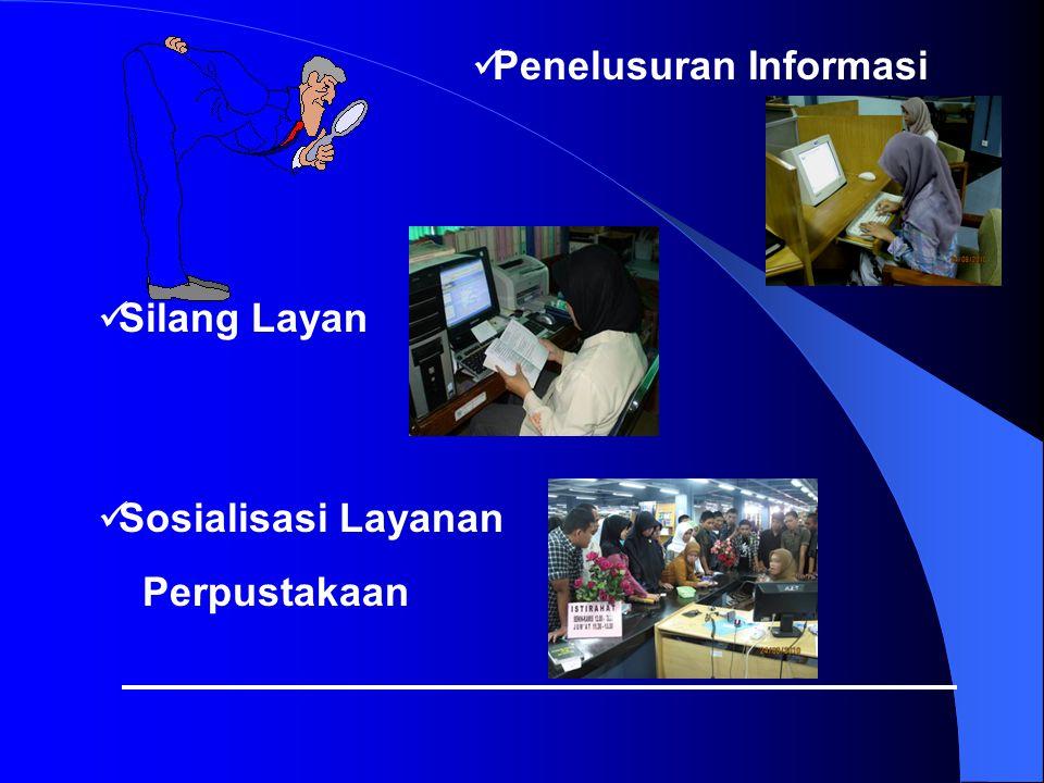 Penelusuran Informasi Silang Layan Sosialisasi Layanan Perpustakaan