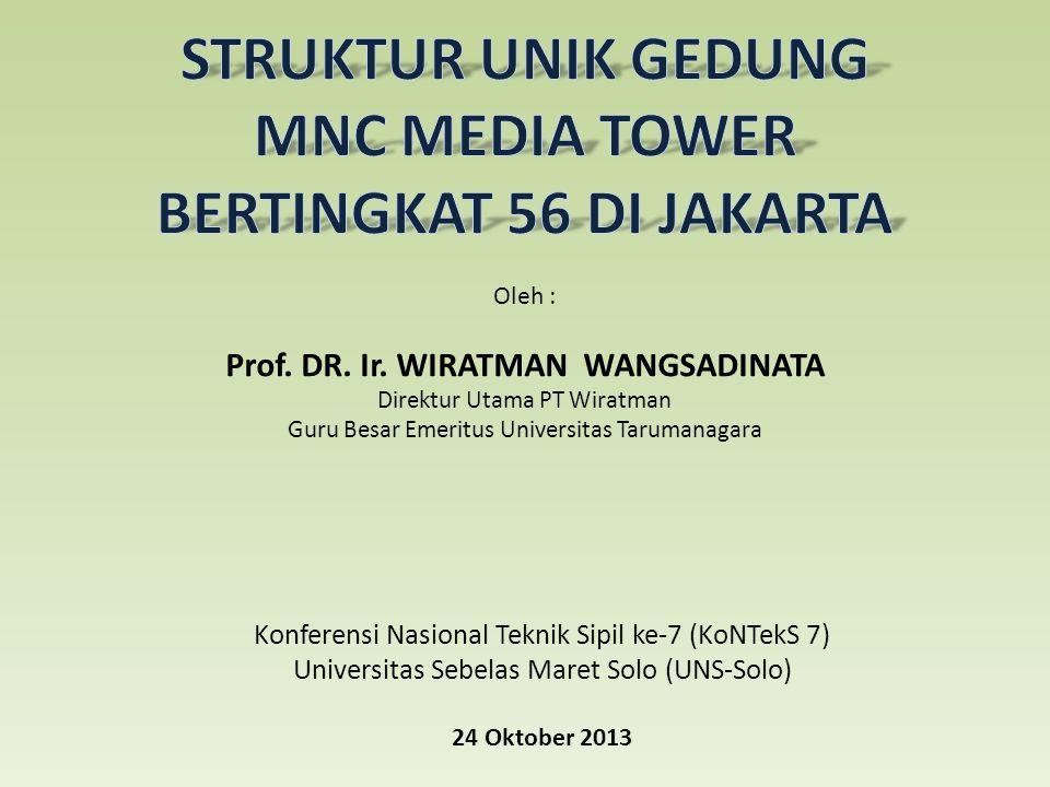 Oleh : Prof.DR. Ir.