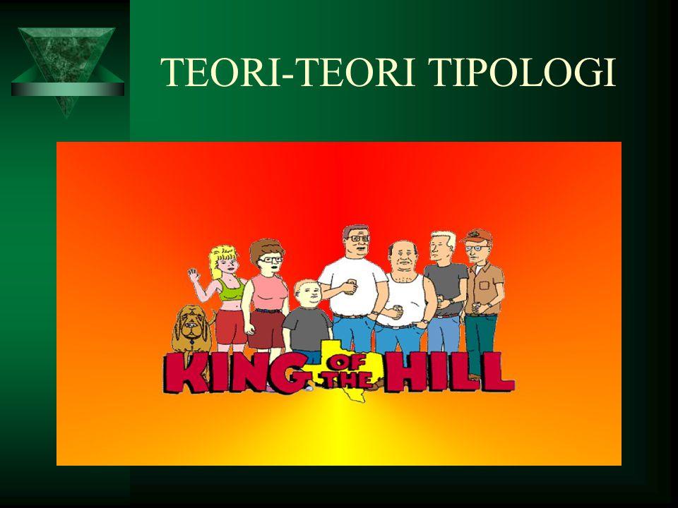 TEORI-TEORI TIPOLOGI