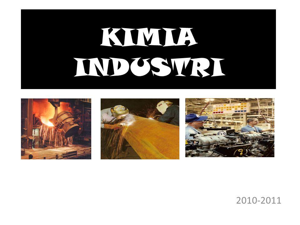 KIMIA INDUSTRI 2010-2011