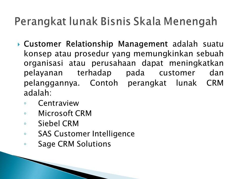  Customer Relationship Management adalah suatu konsep atau prosedur yang memungkinkan sebuah organisasi atau perusahaan dapat meningkatkan pelayanan