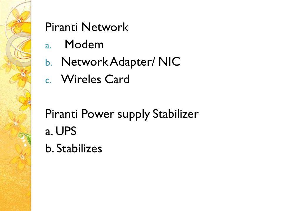Peripheral Komputer Input Device 1.Keyboard 2.Mouse 3.Joystick 4.Trackball 5.Light Pen 6.Ocr Scanner 7.Image scanner 8.Bar code reader 9.Digitzer 10.Voice recognition 11.Touch screen 12.Video Player 13.Kamera 14.dll Input Device 1.Keyboard 2.Mouse 3.Joystick 4.Trackball 5.Light Pen 6.Ocr Scanner 7.Image scanner 8.Bar code reader 9.Digitzer 10.Voice recognition 11.Touch screen 12.Video Player 13.Kamera 14.dll Periferal 1.Network card 2.Modem 3.Midi card 4.TV card 5.dll Periferal 1.Network card 2.Modem 3.Midi card 4.TV card 5.dll CPU 1.Prosessor 2.Chipset/ICH 3.RAM/ROM CPU 1.Prosessor 2.Chipset/ICH 3.RAM/ROM Storage Device 1.Disket 2.Harddisk 3.CD 4.DVD 5.Flashdisk 6.Zip-drve 7.MMC 8.SD, dll Storage Device 1.Disket 2.Harddisk 3.CD 4.DVD 5.Flashdisk 6.Zip-drve 7.MMC 8.SD, dll Output Device 1.Speaker 2.Monitor 3.Printer 4.Projector 5.dll Output Device 1.Speaker 2.Monitor 3.Printer 4.Projector 5.dll