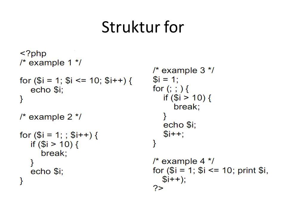 Struktur for