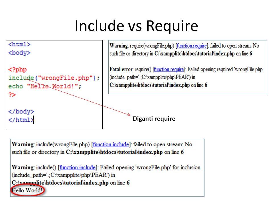 Include vs Require Diganti require