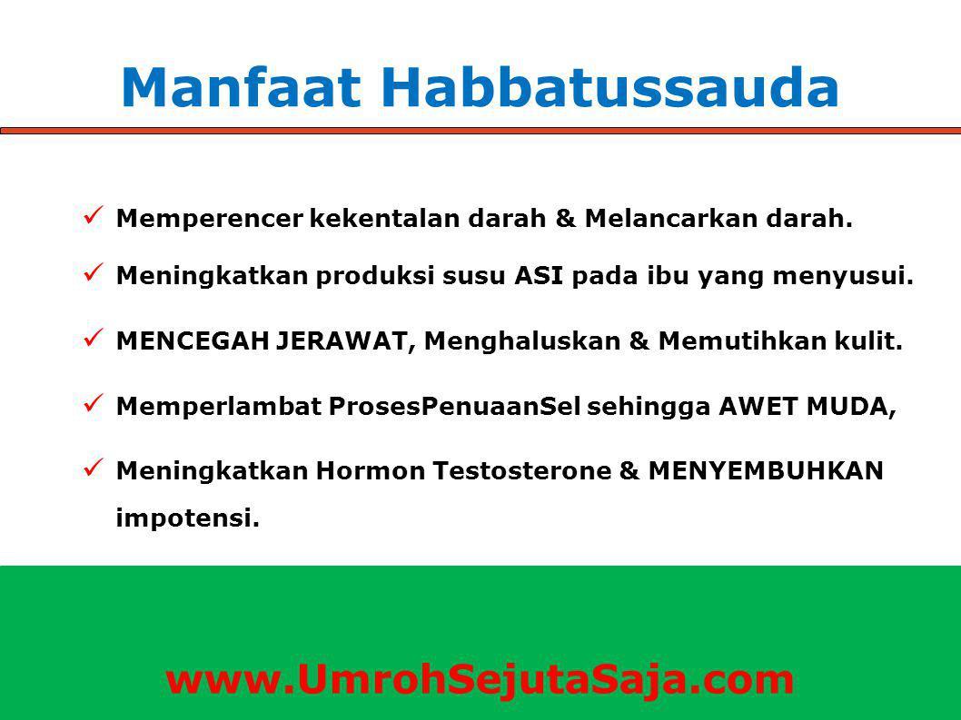 Manfaat Habbatussauda Memperencer kekentalan darah & Melancarkan darah.