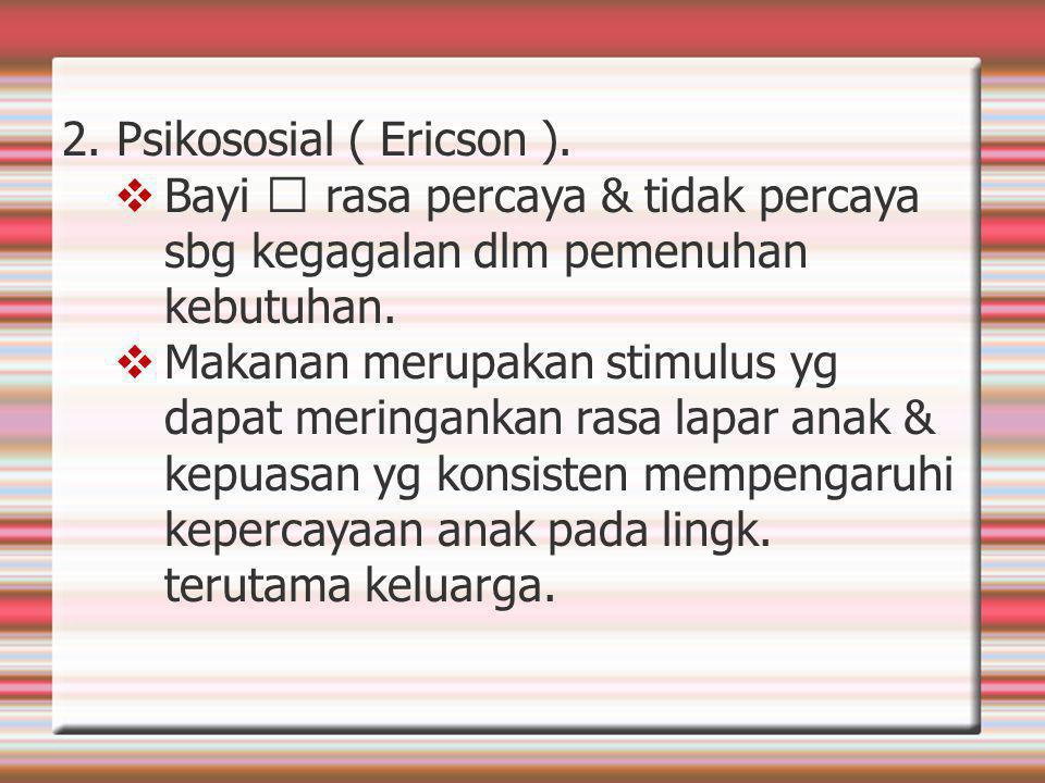 2.Psikososial ( Ericson ).