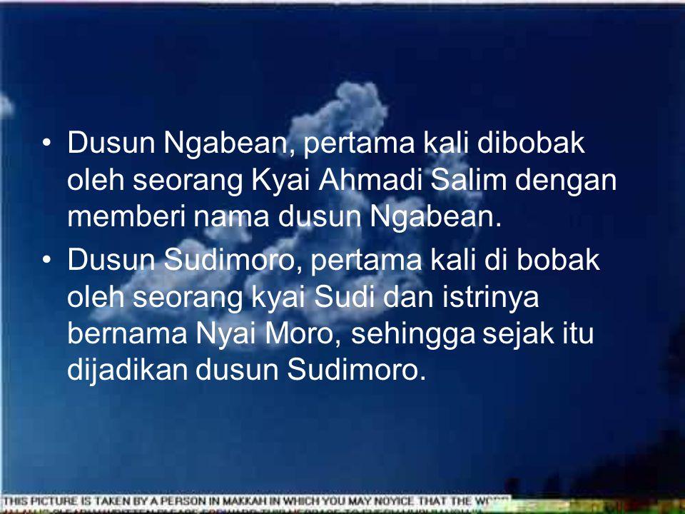 Sekelumit sejarah dusun-dusun di Desa Tanjungsari Dusun Grogol, pada waktu itu dihuni / dibobak oleh seorang yang pandai agama/kyai, yang bernama Ky.