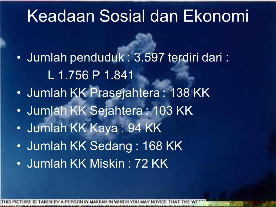Keadaan Wilayah Desa Tanjungsari Tanahnya kering dan sebagian persawahan.
