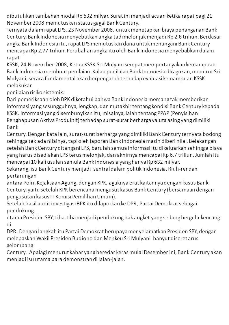 Dan bisik-bisik terdengar bahwa Menko Perekonomian Hatta Rajasa serta Ketua Umum Golkar Aburizal Bakrie kini bersiap-siapkan untuk menggantikan Budiono sebagai Wakil Presiden.
