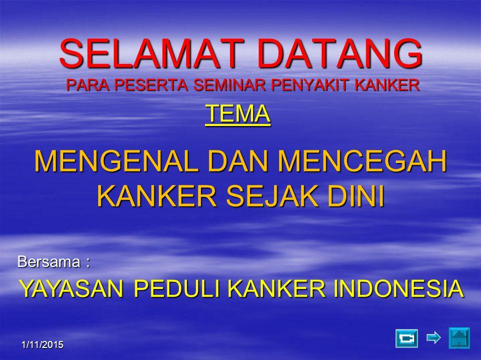 1/11/201523 Pelayanan Imunoterapi  Yayasan Peduli Kanker Indonesia (YPKI) Jl.