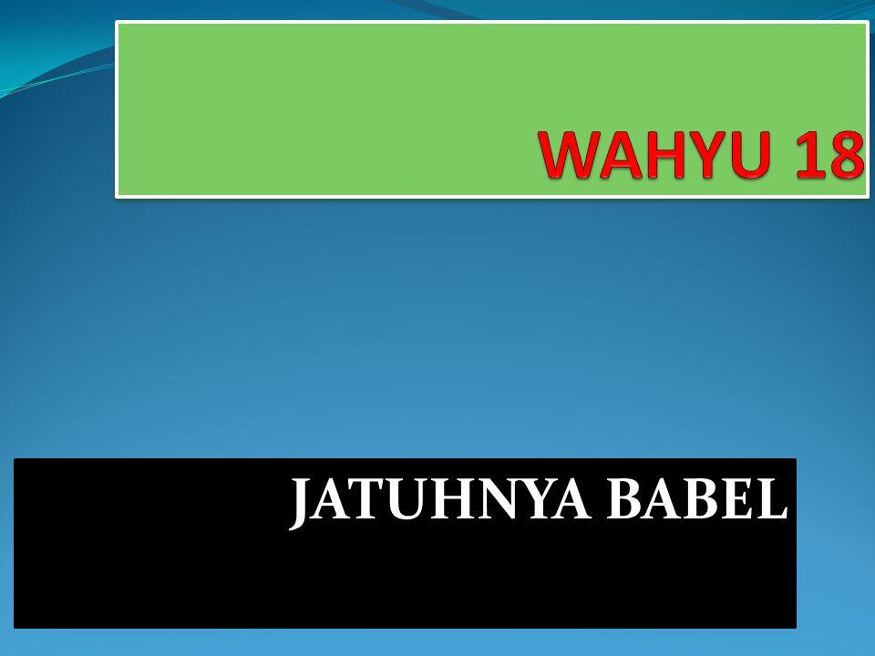 JATUHNYA BABEL