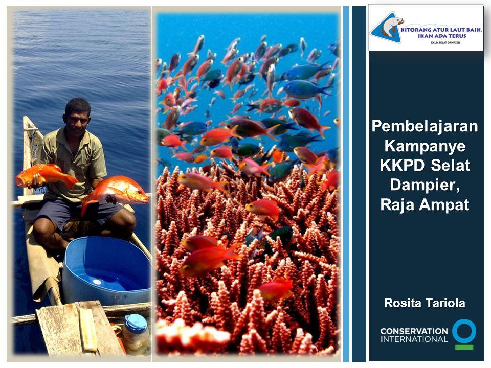 Deklarasi Daerah Tabungan Ikan (DTI) Pemasangan tanda batas Wilayah DTI Strategi Penyingkir Halangan