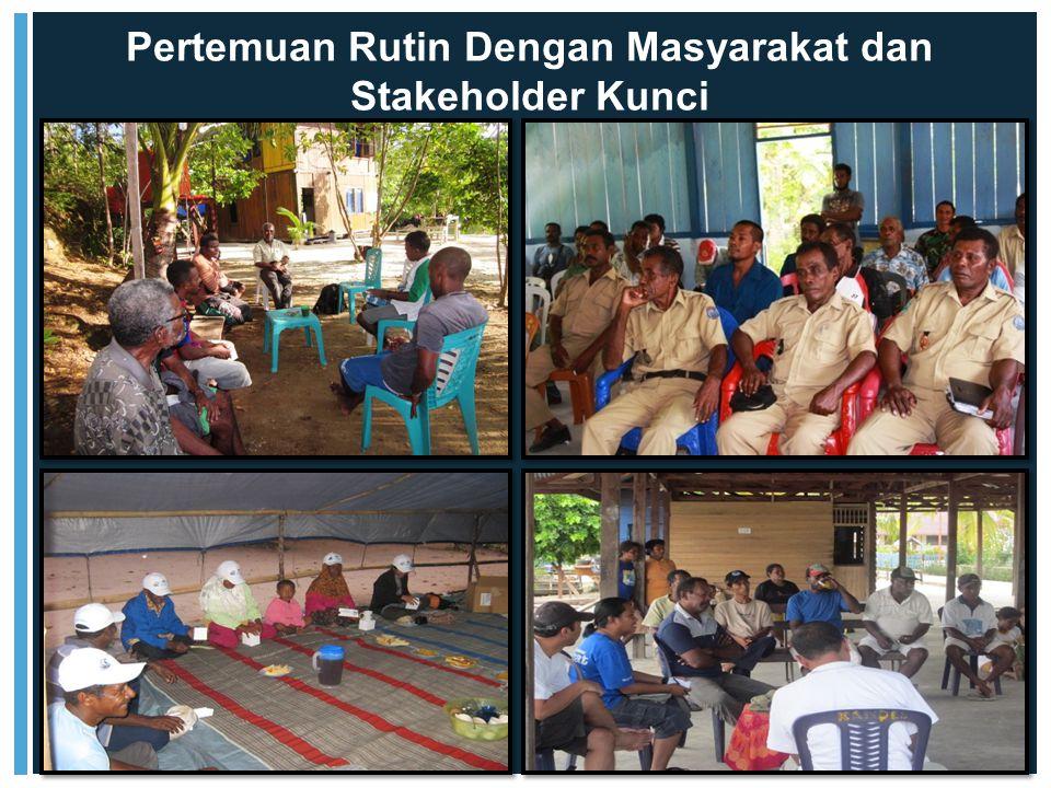 Pertemuan Rutin Dengan Masyarakat dan Stakeholder Kunci