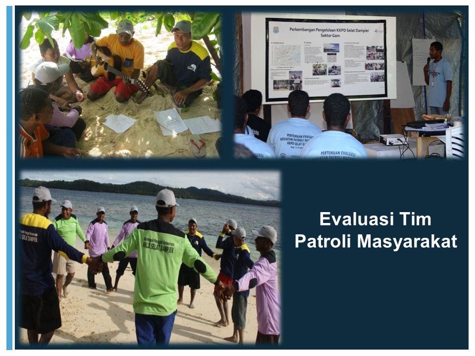 Evaluasi Tim Patroli Masyarakat