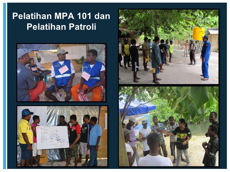 Pelatihan MPA 101 dan Pelatihan Patroli
