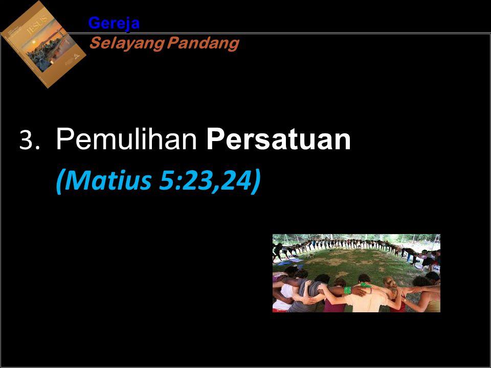 b Understand the purposes of marriageA Gereja Selayang Pandang Gereja Selayang Pandang 3.