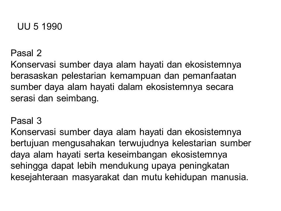 Pasal 2 PP 60/2007 Konservasi sumber daya ikan dilakukan berdasarkan asas: a.