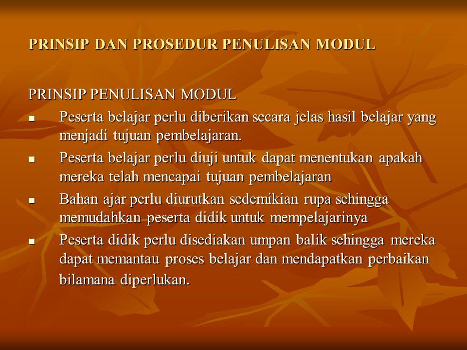 5.Peserta didik perlu didorong bekerja sama dalam mempelajari modul.