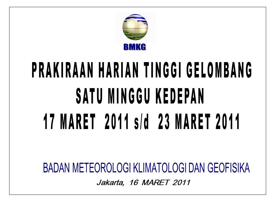 Jakarta, 16 MARET 2011