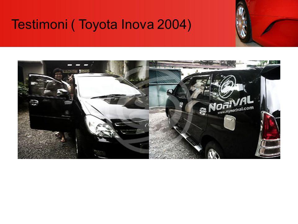 Testimoni ( Toyota Inova 2004)