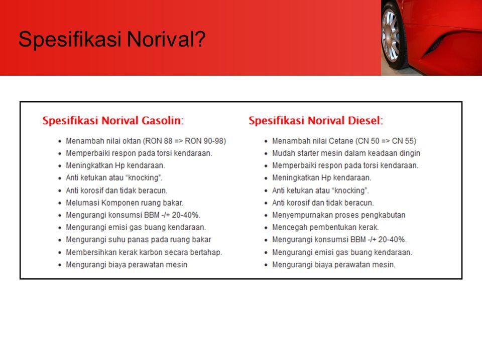 Spesifikasi Norival?
