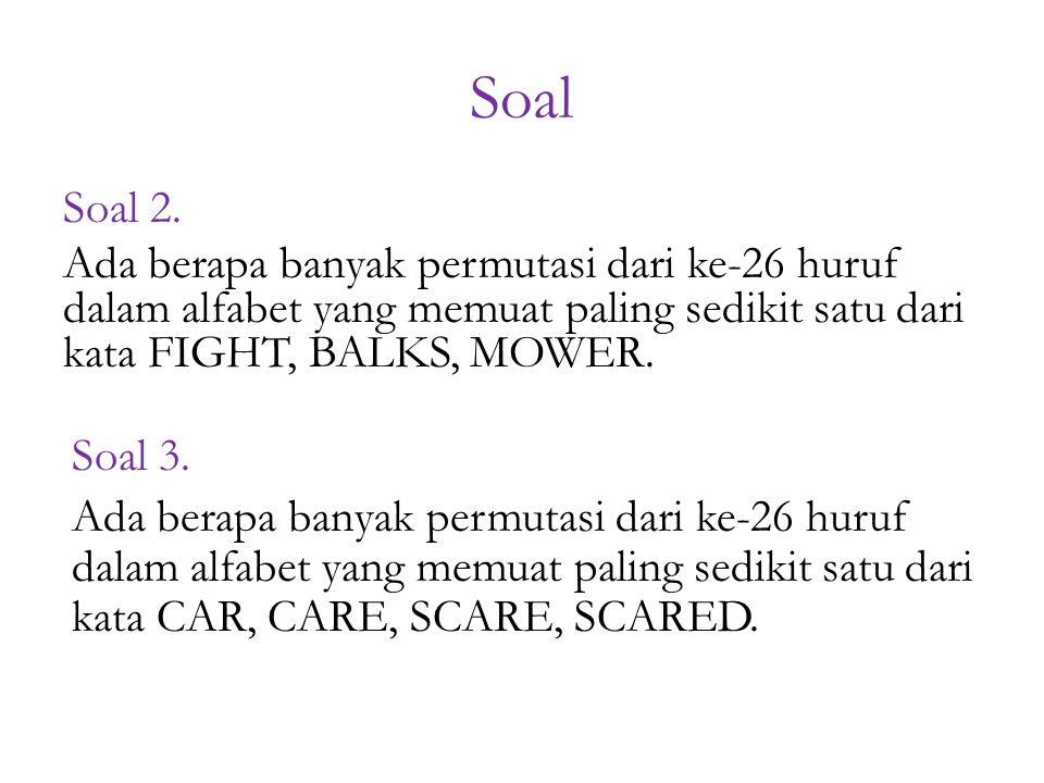 Soal Soal 2.