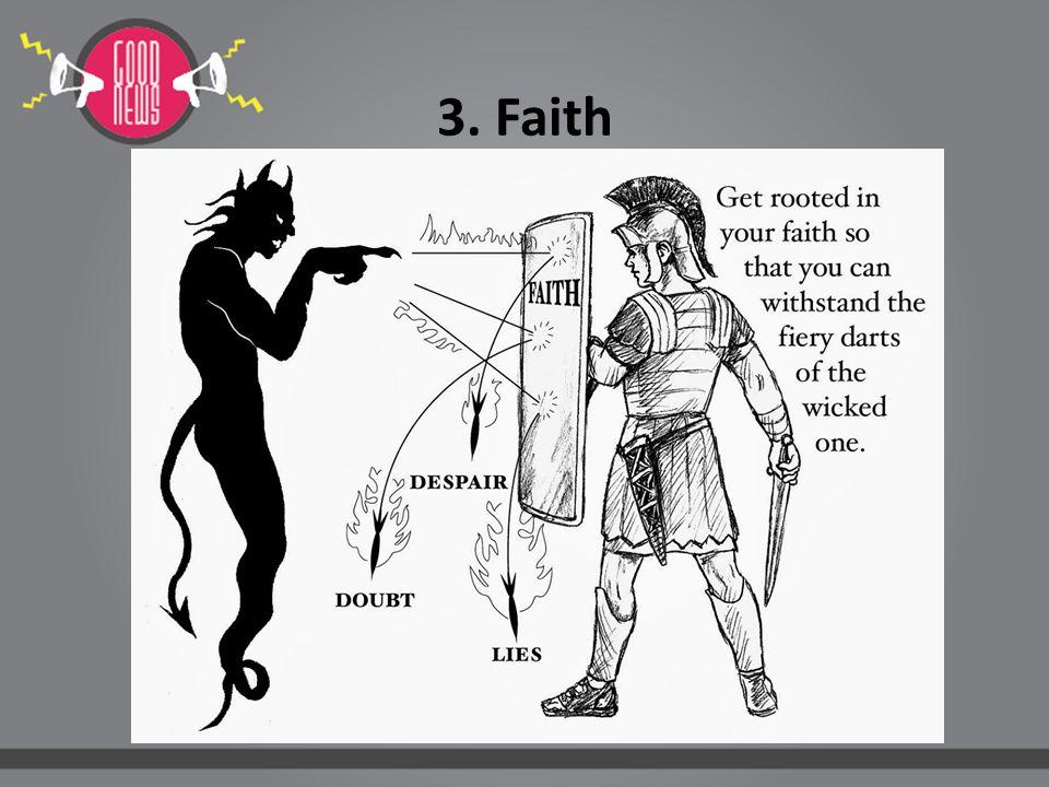 3.Faith Segala perkara dapat kutanggung di dalam Dia yang memberi kekuatan kepadaku. (Fil.
