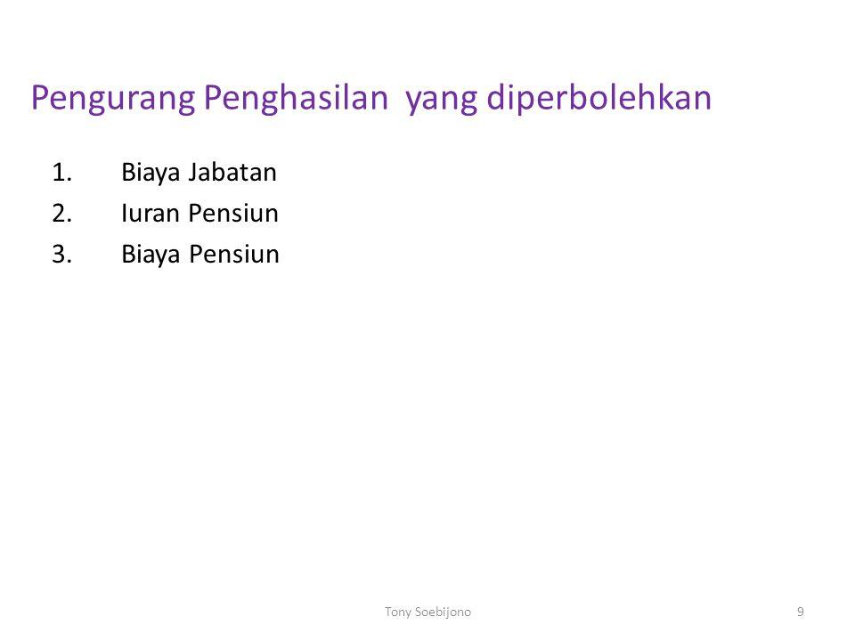 PENGHITUNGAN PPh PASAL 21 PENGHASILAN BRUTO PEGAWAI TETAP PEG.