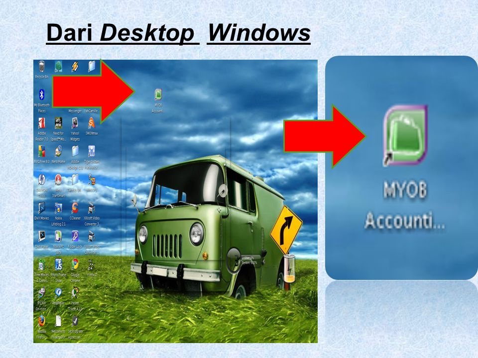 Dari Desktop Windows