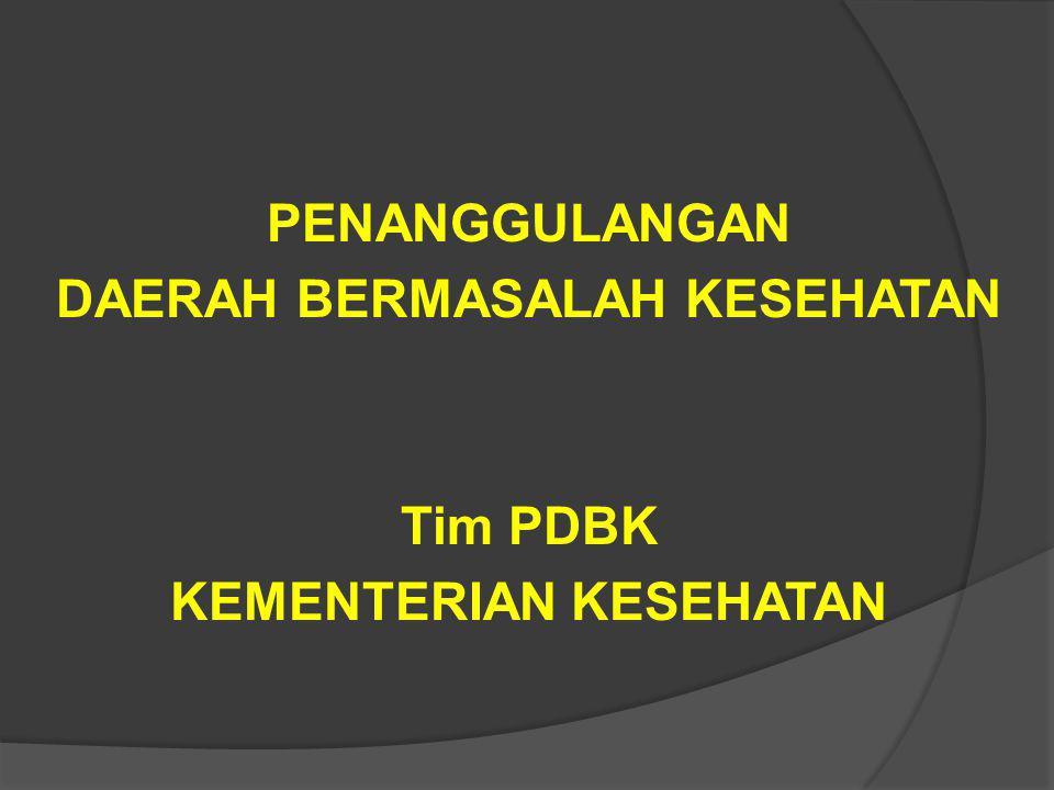 Sietematika  Mengapa DBK ??  Indikator IPKM  Kesenjangan IPKM vs PROFIL  Bagaimana PDBK ?