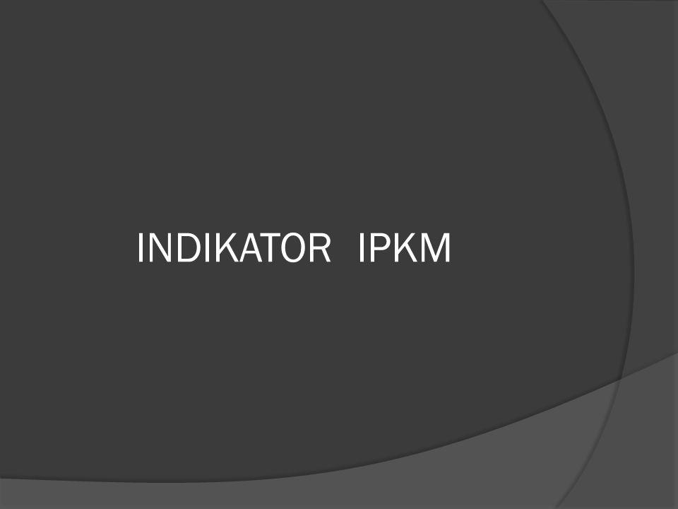 INDIKATOR IPKM