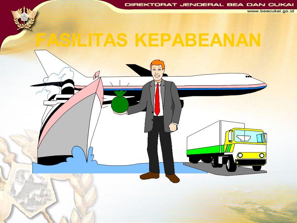 Direktorat Jenderal Bea dan Cukai Direktorat Fasilitas Kepabeanan Homepage http://www.beacukai.go.id PROSEDUR FASILITAS KEPABEANAN PEMBEBASAN BEA MASU