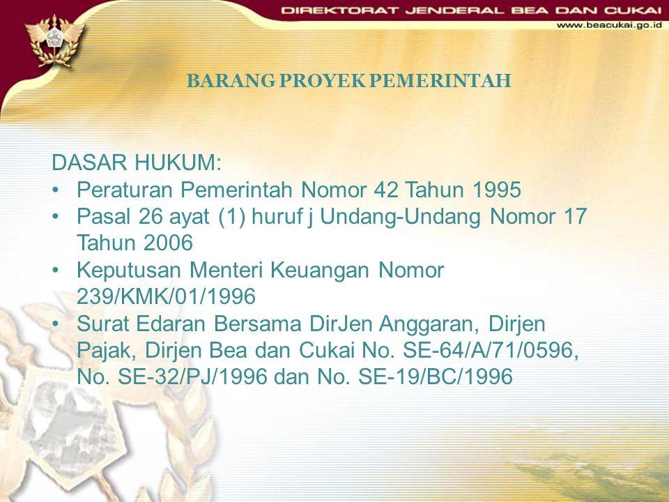 PMK Nomor 106/PMK.04/2007 Dalam hal permohonan diberikan persetujuan, Kepala Kantor menerbitkan surat keputusan pembebasan bea masuk dan/atau cukai at