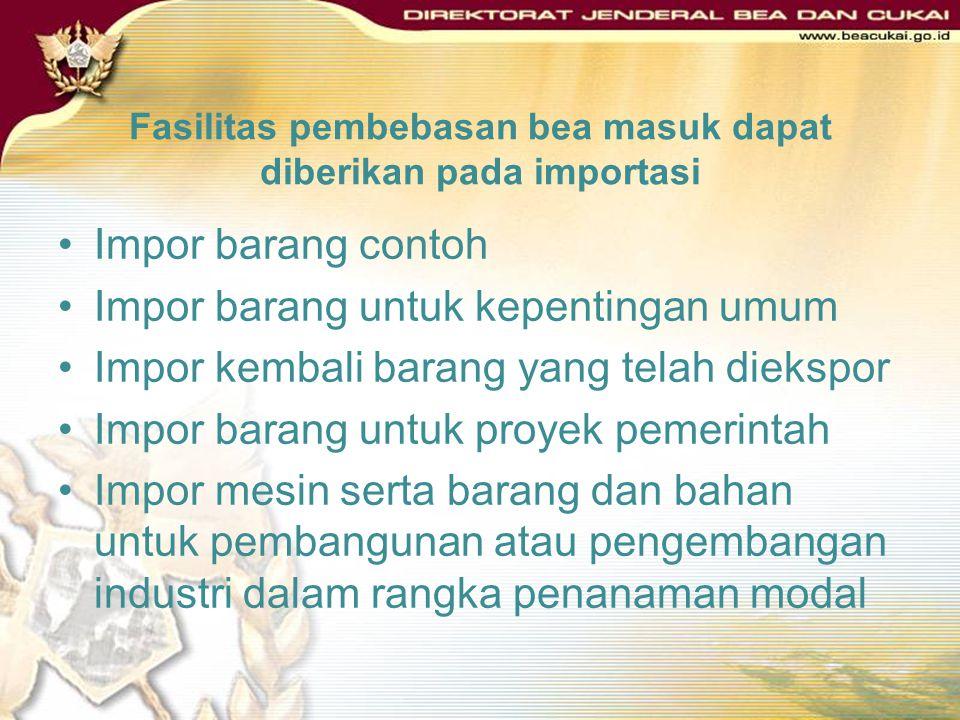 DASAR HUKUM PASAL 25 AYAT (1) UNDANG-UNDANG NOMOR 17 TAHUN 2006 TENTANG PERUBAHAN ATAS UNDANG-UNDANG NOMOR 10 TAHUN 1995 TENTANG KEPABEANAN. PASAL 26