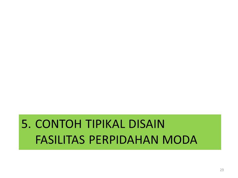 5. CONTOH TIPIKAL DISAIN FASILITAS PERPIDAHAN MODA 29