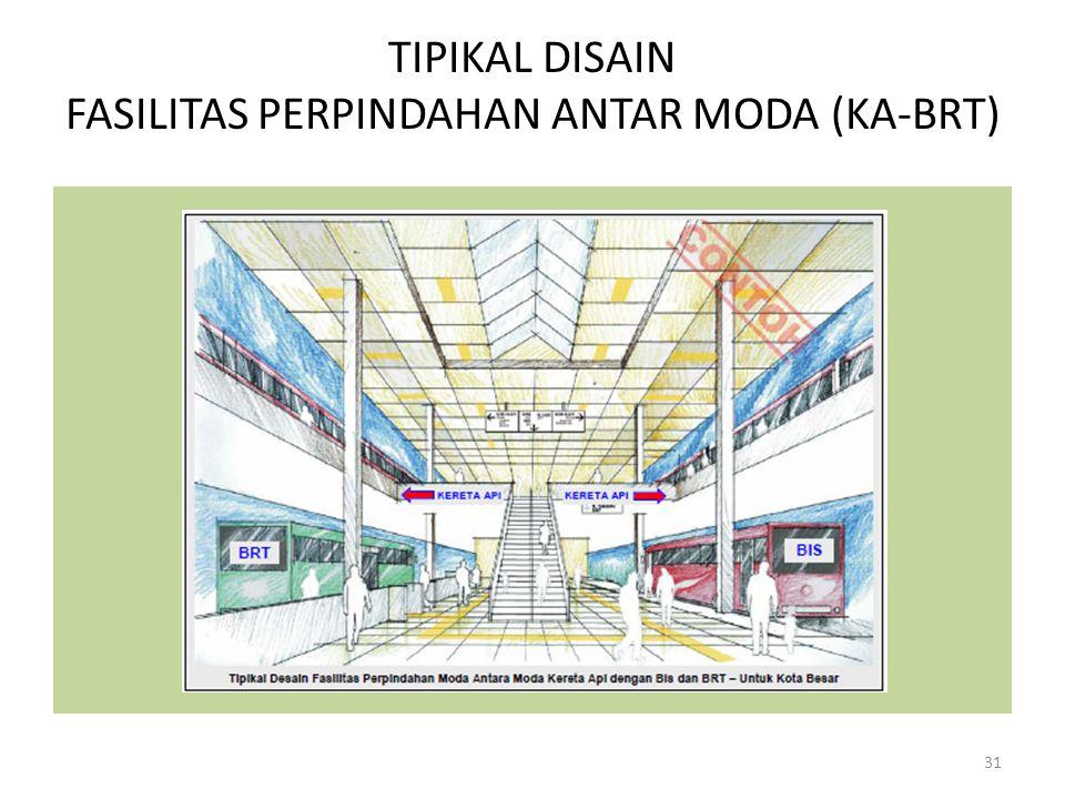 TIPIKAL DISAIN FASILITAS PERPINDAHAN ANTAR MODA (KA-BRT) 31