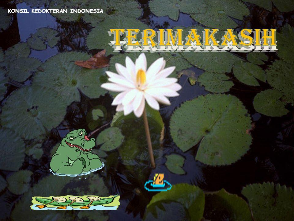 SEKIAN TERIMA KASIH KONSIL KEDOKTERAN INDONESIA