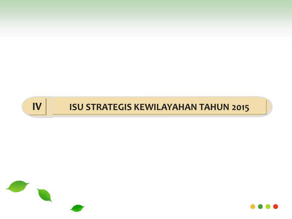 ISU STRATEGIS KEWILAYAHAN TAHUN 2015 IV