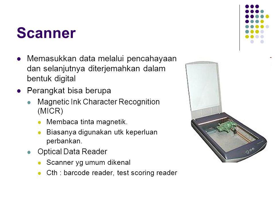 Jenis ROM ROM Data dimasukkan pada saat proses produksi.