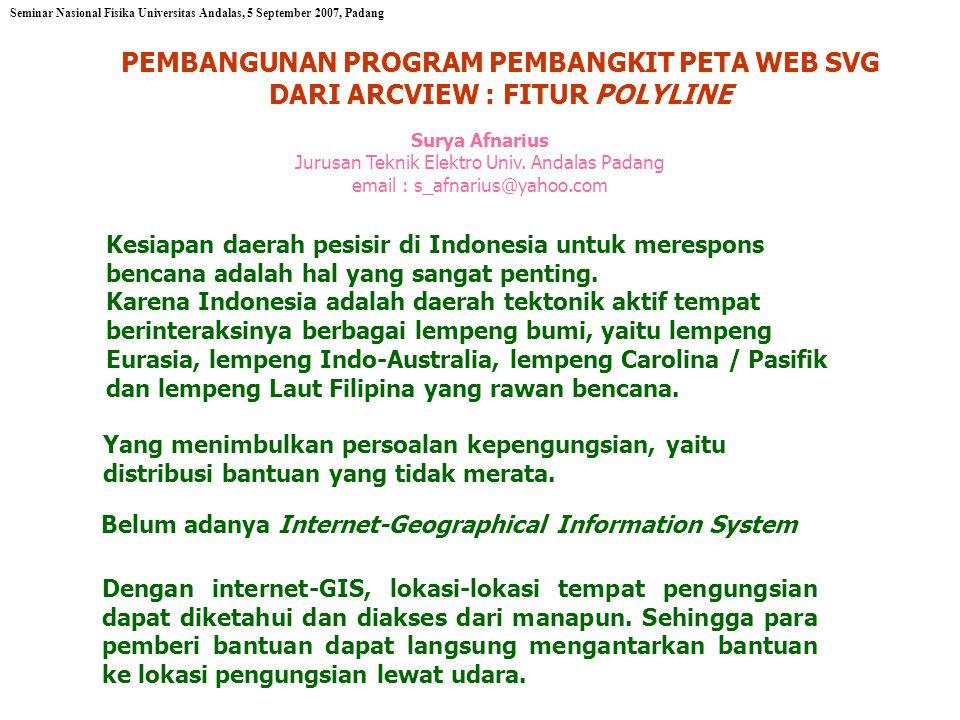 Kesiapan daerah pesisir di Indonesia untuk merespons bencana adalah hal yang sangat penting.