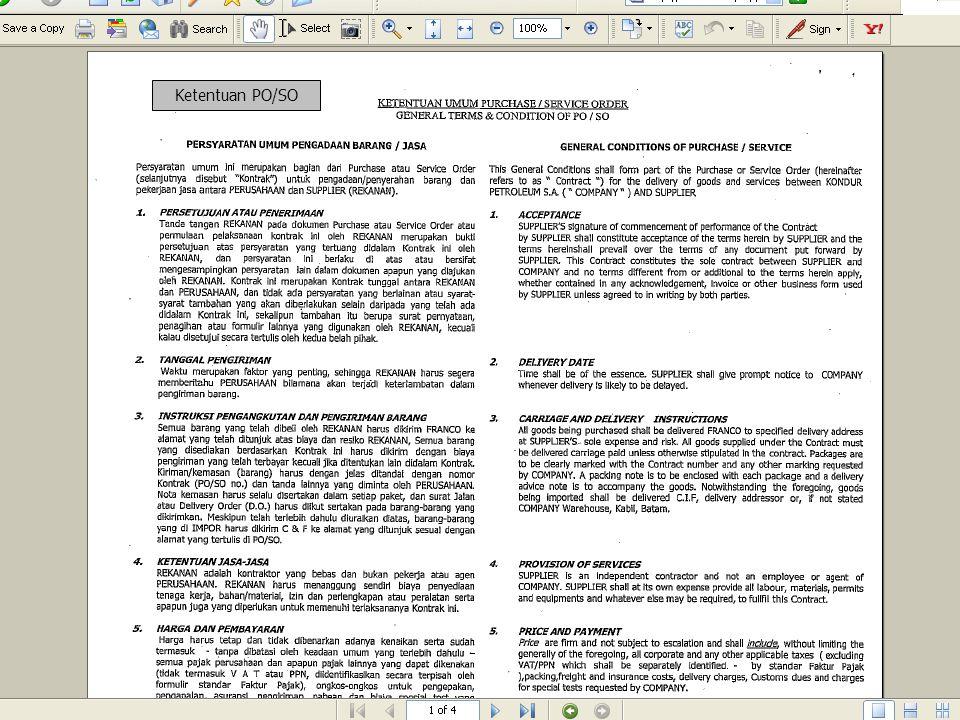 Klik tombol Attach file untuk melampirkan brosur/katalog atau spesifikasi teknis.