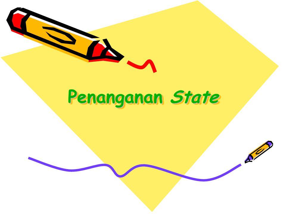 Penanganan State