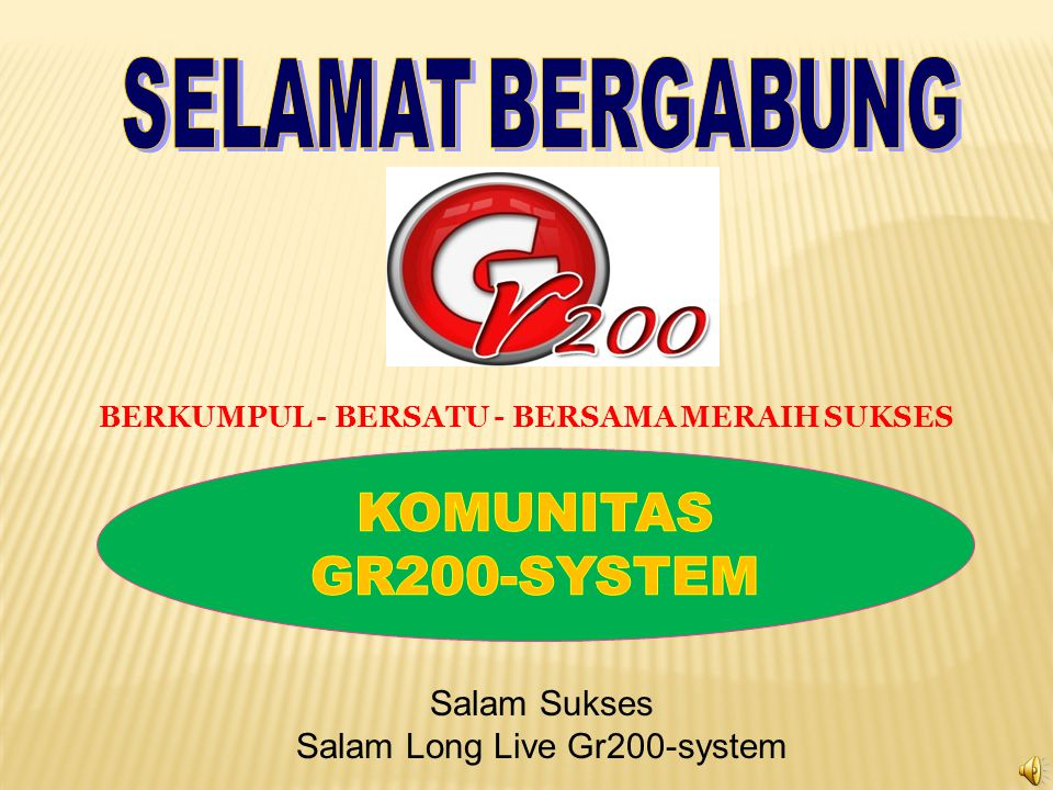  Jaringan Masyarakat Dunia internasional untuk berkerjasama meningkatkan taraf kesejahteraan bersama dalam komunitas GR- 200_SYSTEM.