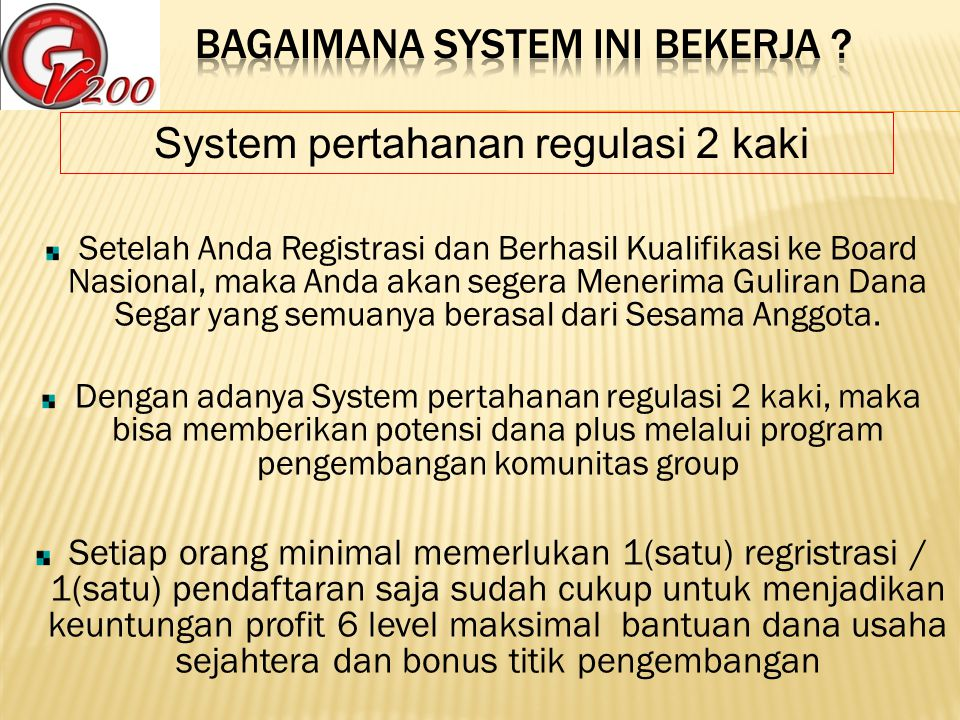 Setiap Peserta memiliki system scurity berlapis / keamanan berlapis.