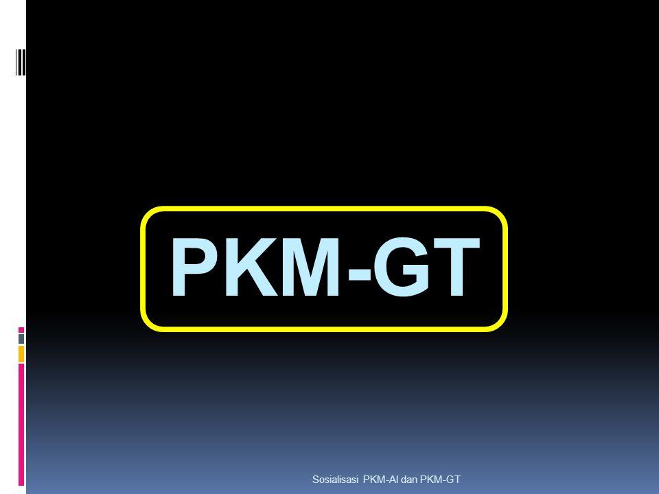 PKM-GT Sosialisasi PKM-AI dan PKM-GT