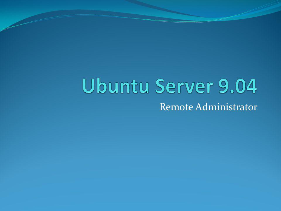 Open SSH Server Open SSH Server merupakan paket aplikasi yang digunakan untuk meremote komputer menggunakan protocol SSH (Secure Shell)