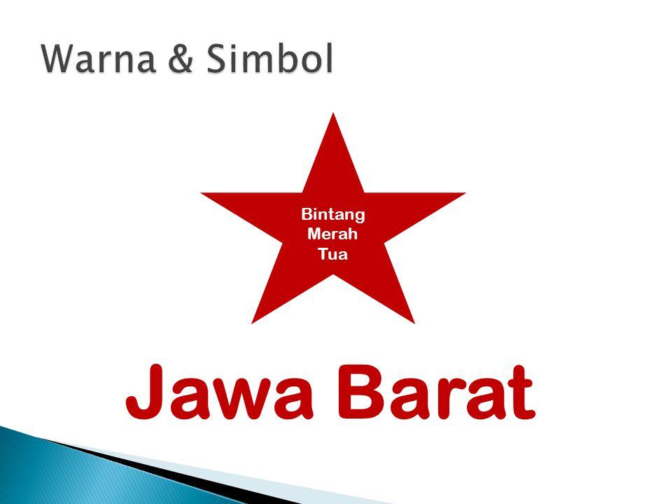 Jawa Barat Bintang Merah Tua
